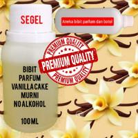 ORIGINAL Bibit parfum aroma Vanilla Cake Murni No Alcohol 100ml
