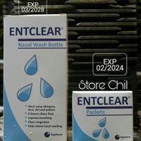 ENTCLEAR Paket (Botol dan Sachet)
