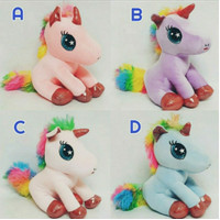 Unicorn Doll / Boneka Sit Unicorn licrain / Gift Unicorn Doll
