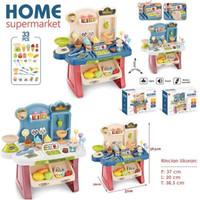 Mainan Home Supermarket Playset Suara Lampu - Pretend Toy Supermarket