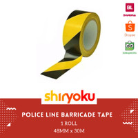 SAZANAMI LAKBAN POLICE LINE TAPE BARRICADE TAPE 2 X 30M MARKING FLOOR