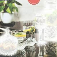 Saint Thomas Tumbler Glass Drinkware Tall Low Gelas