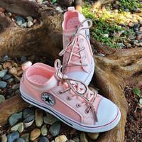 Sepatu Anak Import B662 Pink
