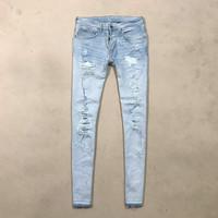 HnM Ripped Blue Jeans 30 (no rucas, zara, nudie)