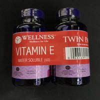 Wellness Vitamin E 400 IU Water Soluble isi 60 Twin Pack