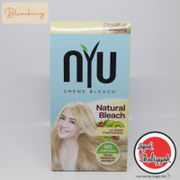 NYU Bleaching Hair Color/ Cat Rambut / Semir Rambut Tanpa Ammonia