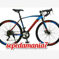 sepeda balap roadbike ODDESSY 700C 14SPEED SHIMANO
