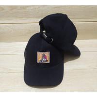 [COD]Topi Distro Pria/Topi Snapback Bordir FROM Original New Model - Hitam, All Size