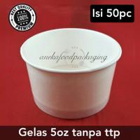 Paper cup ice cream/gelas ice cream 5oz