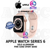 Apple Watch Series 6 GPS Gold Aluminium Case With Pink Sand Sport Band