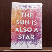 The Sun is Also a Star Novel by Nicola Yoon