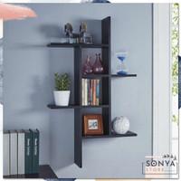 Rak Dinding Minimalis Hiasan Kamar Dekorasi Ruangan Rumah Serbaguna