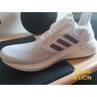 ORI Ultraboost 2020 Adidas Sepatu Sneakers Triple white BARU Ukuran 41