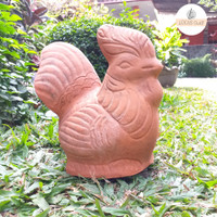 Celengan Ayam Terracota / Souvenir Gerabah Unik