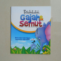 Buku Cerita Anak - Persahabatan Gajah dan Semut, Buku Anak