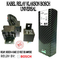 kabel relay relai set klakson mobil motor Bosch SP series