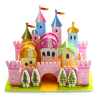 Puzzle 3D Mini | Rainbow Castle | Puzzle Istana - 1690-34