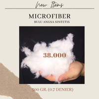 Microfiber bulu angsa sintetis isian bantal