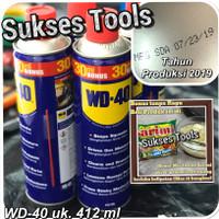 WD 40 412 ml / Pelumas Serba Guna WD40 uk. 412 ml