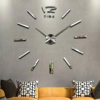 Jam Dinding Besar Raksasa DIY Giant Wall Clock Quartz 120cm