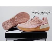 Sepatu Basket Puma Clyde Hardwood LOW Natural Misty Rose