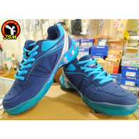 Sepatu Badminton anak APACS warna NAVY/S.BLUE