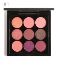 Ready & ORI Focallure nine 9 warna colors eyeshadow FA36 #1-#5 - NO.1