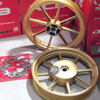 VELG RACING BOY VARIO 125 VARIO 150 185X215 RING 14 SP 811 Free Cakram