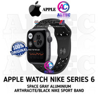 Apple Watch NIKE Series 6 GPS SpaceGray Aluminium With Nike Sport Band