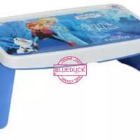 Meja Lipat Belajar Anak Lap Desk Frozen Biru Karakter