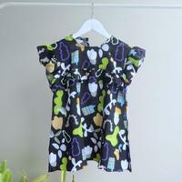 Rayon Ruffle Dress/baju anak