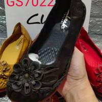 sepatu flat Clarks lotus 7022 kulit asli