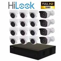 Paket CCTV Hilook 16 Kamera 16 Channel