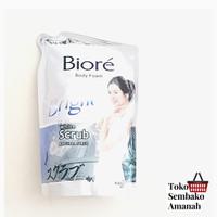 biore white scrub body wash sabun mandi cair