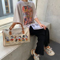 Tas Selempang Zara Mickey Mouse Fashion Import JS1949KS
