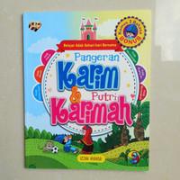 Belajar Adab Sehari2 Buku Cerita Anak Pangeran Karim dan Putri Karimah