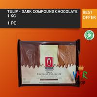 Chocolate compound / Coklat compound TULIP milk / dark 1KG 1 kg - Milk Compound
