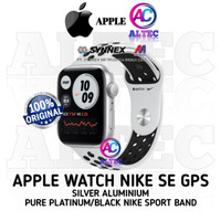 Apple Watch NIKE SE GPS Silver Aluminum Case with Nike Sport Band