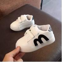 Sneakers Anak Motif M Ready 2 Warna B01
