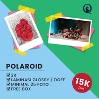 CETAK FOTO POLAROID 25pcs/box
