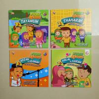 Buku Cerita Anak Seri Fiqh for Kids, Fiqih shalat puasa dll, Buku Anak