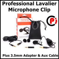 Taffware Professional Lavalier Microphone Clip Portable 3.5mm Type Q10