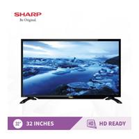 LED TV 32 inch SHARP HD-2T-C32BA2i-Titanium