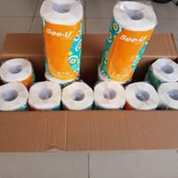Tissue Dapur SEE-U Classic Kitchen Towel Roll / Tisu Serap Minyak 1DUS