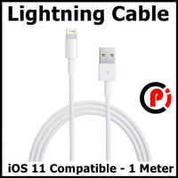 Lightning Cable Multiple Strands TPE iOS 11 Compatible Panjang 1 Meter