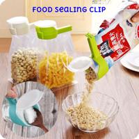 Klip Penjepit Makanan Bumbu Dapur Dgn Corong Food Sealing Clip Segel K