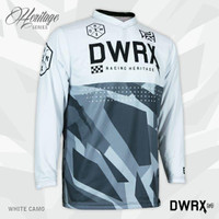 Jerseys Dirtworks HERITAGE CAMO Series - Jersey MTB Sepeda adem