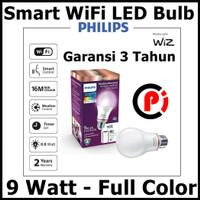 Philips Lampu Smart WiFi LED 9W 9 Watt Full Color Warna Bisa Diatur