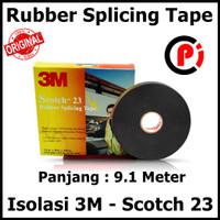 Original 3M Scotch 23 Rubber Splicing Tape Isolasi Listrik High Volt