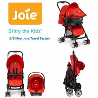 (Baby Club Itc Bsd) STROLLER JOIE JUVA TRAVEL SYSTEM + CARSEAT
